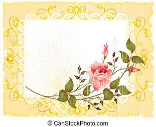 Una tarjeta de felicitación