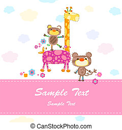 Una tarjeta de invitación