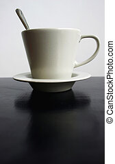 Una taza de café