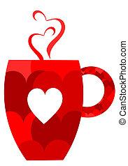 Una taza de San Valentín