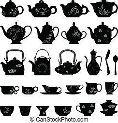 Una taza de té oriental