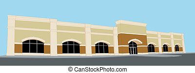 Una tienda grande