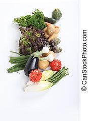 Una variedad de verduras