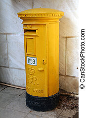 Una vieja caja de correos