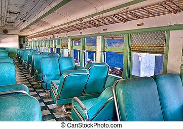 Una vieja caravana