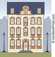 Una vieja casa romántica