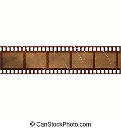 Una vieja colección de películas antiguas