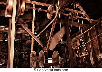 Una vieja fábrica
