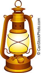 Una vieja linterna