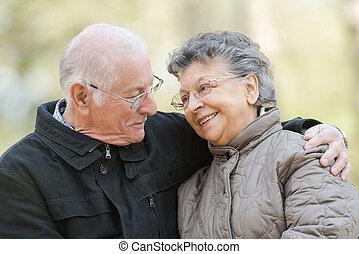 Una vieja pareja