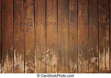 Una vieja tabla de madera