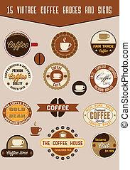 Unas placas de café