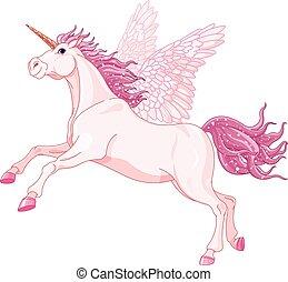 Unicornio de hadas