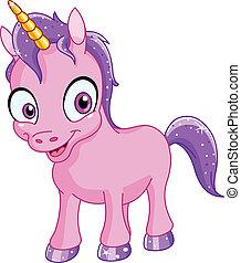 Unicornio sonriente