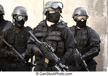 Unidad especializada de policía