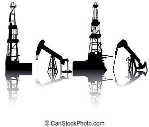 unidades, aceite, recuperación