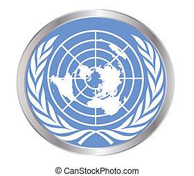 unido, emblema, naciones