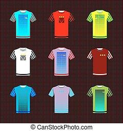 uniforme, equipo, ropa de deporte