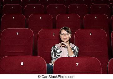 Uno en el cine
