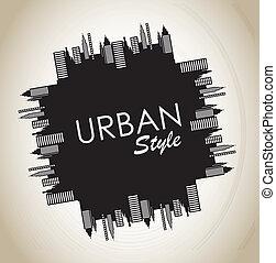 urbano, estilo
