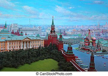 "u.r.s.s., artistas, russia., ussr"", -, capital, 2011, kremlin, fue adelante, moscú, 7, moscú, deshalyt, commissioned, yefim, 7:, diorama, creado, enero, ministerio, extranjero, ""moscow, equipo"
