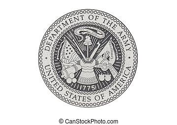 u..s.., sello, funcionario, ejército