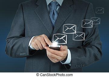 Usa la computación de computación con e-mail