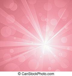 uso, puntos, explosión, lineal, pink., no, sombras, resumen, global, plano de fondo, luz, notable, agrupado, colors., transparencies., radial, ilustraciones, brillante, layered., gradients