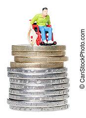 Utilizador de sillas de ruedas