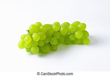 uvas blancas frescas