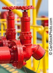 Válvula de fuego, instalación seguridad de fuego