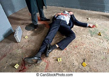 Víctima de asesinato