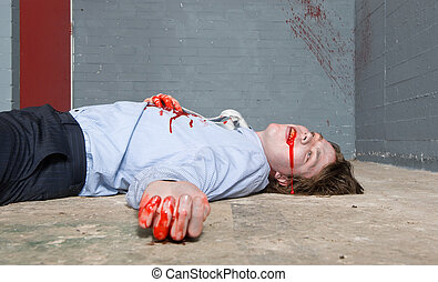 Víctima de homicidio