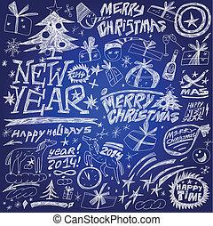 Vacaciones de Navidad, Año Nuevo