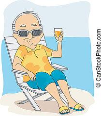 Vacaciones de retiro