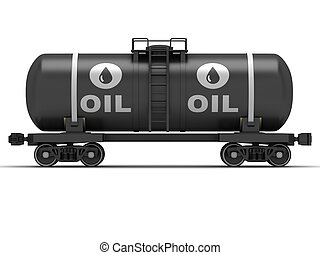 vagón, ferrocarril, tanque