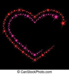 Valentine brilla en el fondo