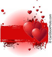 Valentine Grunge Banner