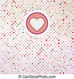 Valentine polka. EPS 8