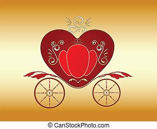 Valentine real carruaje