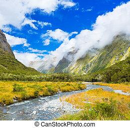 valle de montaña