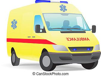 Van de ambulancias