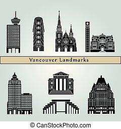 Vancouver V2 puntos de referencia