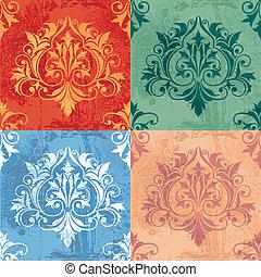variaciones de color de elementos clásicos