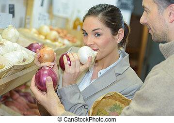 variedad, cebolla