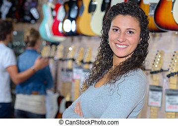 variedad, guitarras