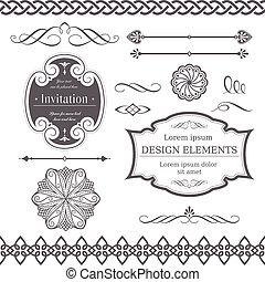 Varios elementos de diseño
