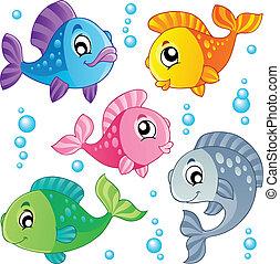 Varios peces lindos, colección 3
