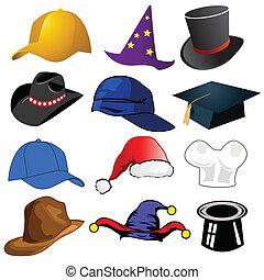 Varios sombreros