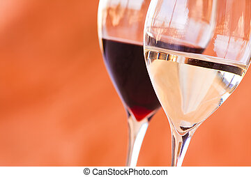 vasos de vino